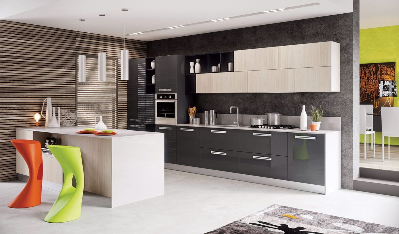 What kind of a kitchen is practical, comfortable and multifunctional!